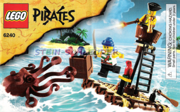 Lego Piraten Bauanleitung -Kraken Attackin'- (6240)
