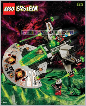 Lego Bauanleitung -Warp Wing Fighter- (6915)
