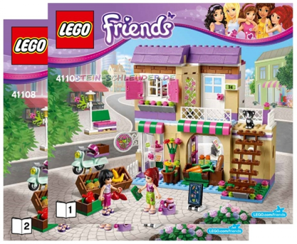 lego friends bauanleitung heartlake food market 41108 legosteine. Black Bedroom Furniture Sets. Home Design Ideas
