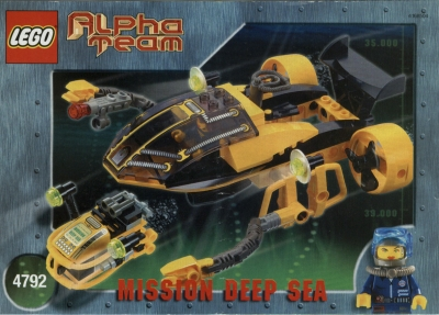 Lego Bauanleitung -Alpha Team Navigator and ROV- (4792)