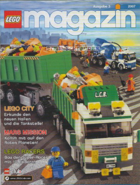 Lego Club Magazin 3/2006 (wc06de3)