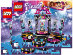 Lego Friends Bauanleitung -Pop Star Show Bühne- (41105)