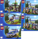 Lego Bauanleitung  -Forest Police Station- (4440)