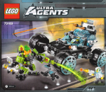 Lego Agents Bauanleitung -Agent Stealth Patrol- (70169)